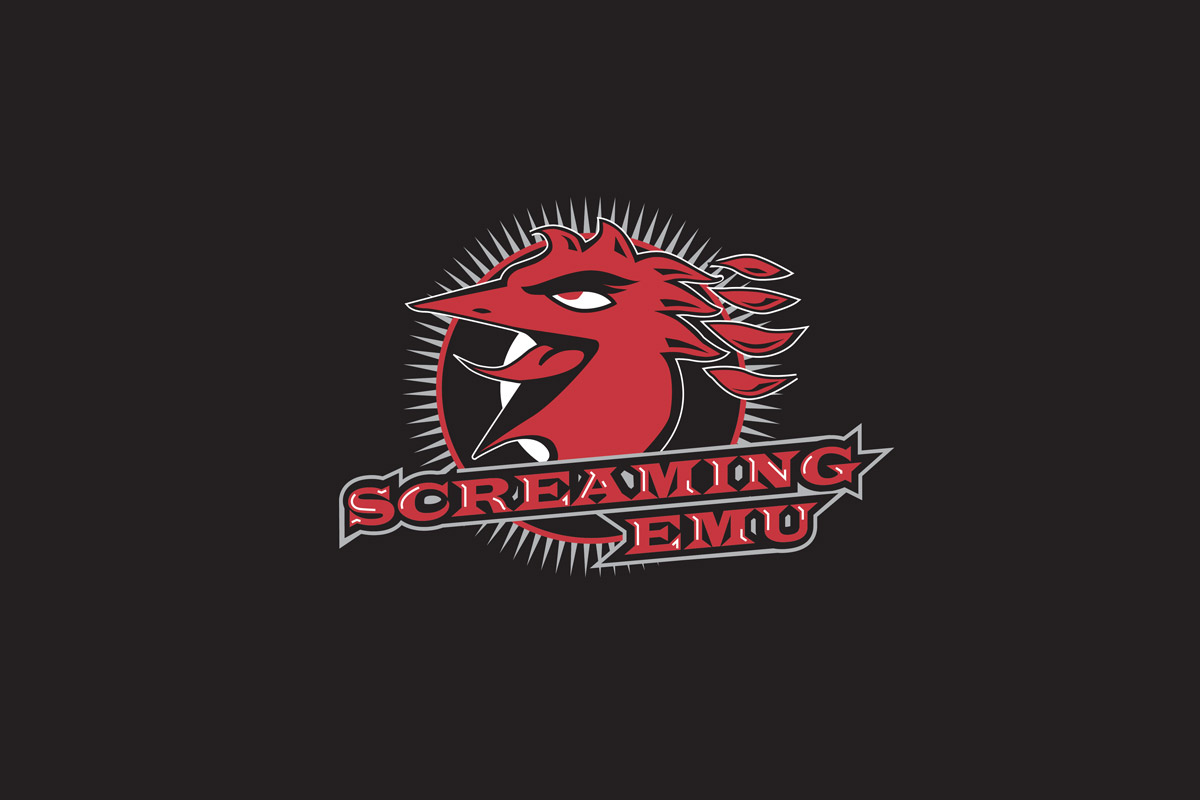 Screaming Emu Logo Design Adelaide